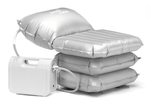 A link to the Mangar Inflatable Bathing Cushion that's available for sale on the Ability Superstore website