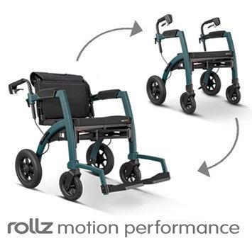 the image shows the rollz motion performance