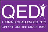 the qed logo