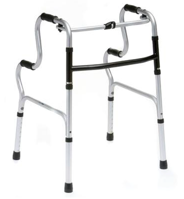 A picture of a Folding Zimmer Frame