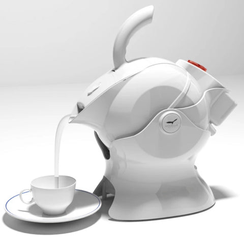 Uccello Kettle all in white