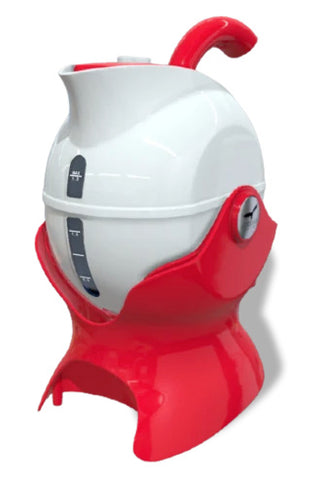 The Uccello Kettle in red and white