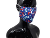 the image shows the christmas stocking face mask