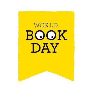 the image shows the world book day logo