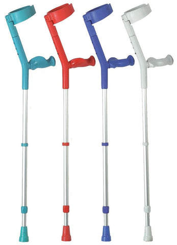 Soft-Grip-Comfort-Handle-Crutches Blue