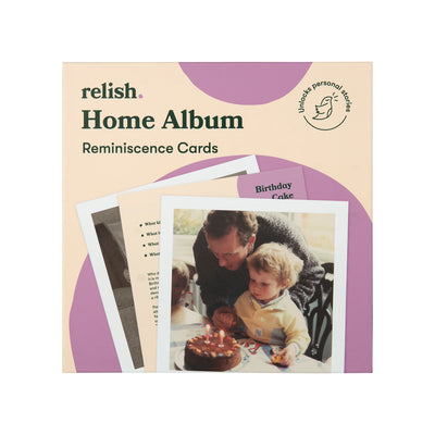 the image shows the home album reminiscence cards