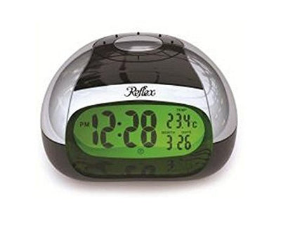 T21 Talking LCD Alarm Clock With Spoken Temperature