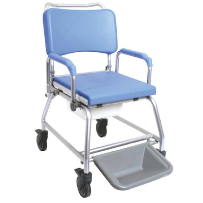 image shows the Atlantic Bariatric Commode and Shower Chair