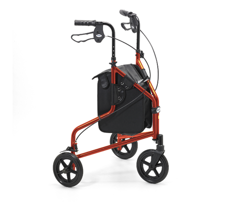 Days Lightweight Orange Aluminium Tri Walker