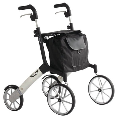 Lets Go Out Rollator Black & Silver
