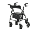 Rollator and Transit Chair Combination
