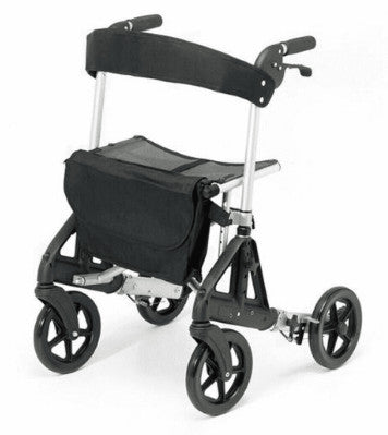 the image shows the silver Days Fortis Rollator