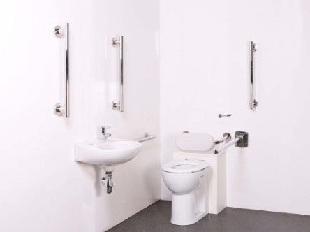 the image shows the back to wall doc m toilet pack