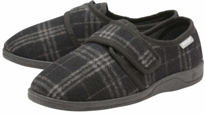 the image shows the merrick slippers