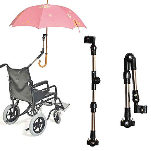 Adjustable Wheelchair Clamp