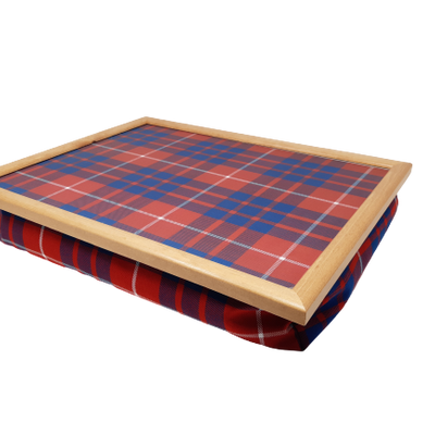 Luxury Tartan Cushioned Lap Tray