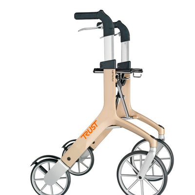 Lets Fly Rollator in Champagne