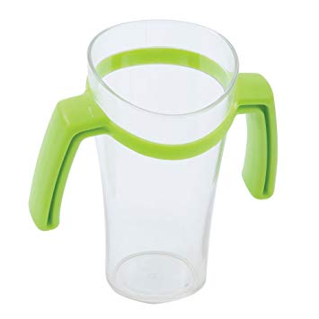 Nosey Clear Cup - with or without handles
