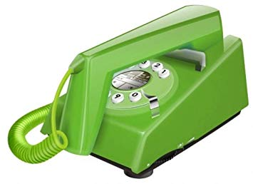Trimline Telephone in Green