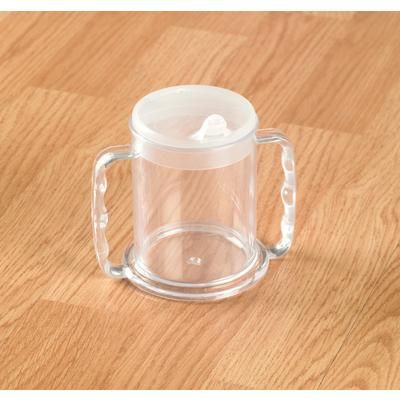 Wide Base Mug with Two Lids