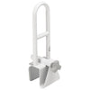 image shows white Deluxe Bath Grab Bar