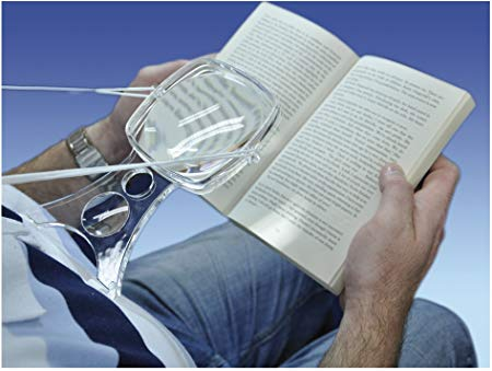 Hands Free Magnifier with Neck Cord