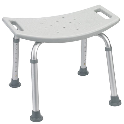 the image shows the bath bench without a back