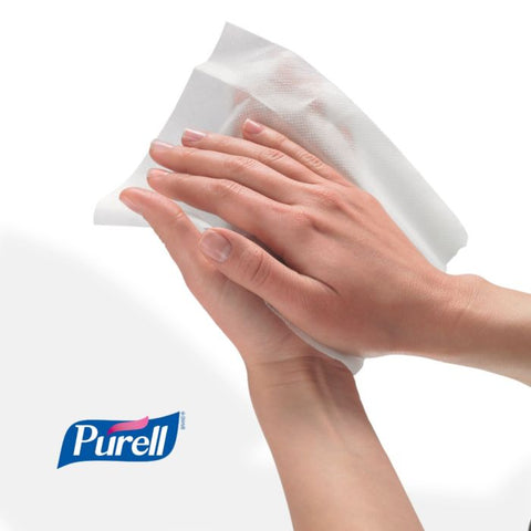 Purell Antimicrobial Wipes Plus - Tub of 270