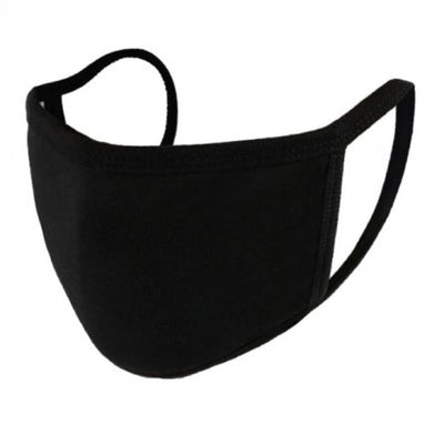 the image shows the single layer stretchy face mask