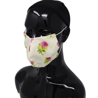Washable, Reusable Face Mask | Roses