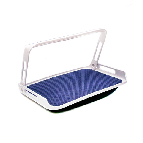 Stay Tray with Bean Bag & Fold-down Handle