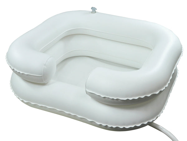 The image shows the Inflatable Hair Washing Basin
