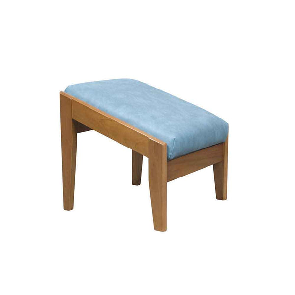 the image shows the blue dartmouth footstool