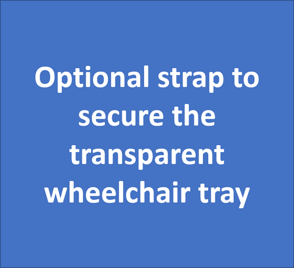 Optional Strap for Wheelchair Tray