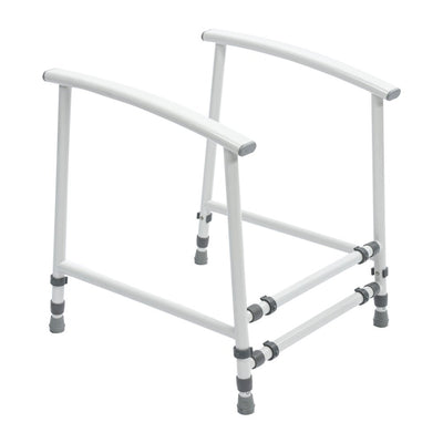 the image shows the nuvo petite childrens toilet frame
