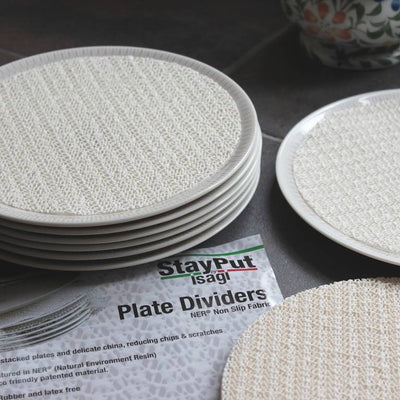 the image shows the StayPut Plate Dividers