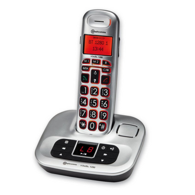 BigTel 1280 Cordless Telephone with Answering Machine