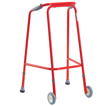 Lightweight Red Walking Frame