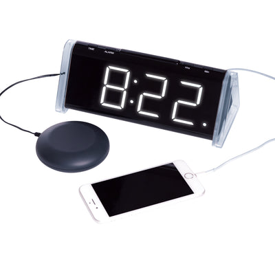 the image shows the shake 'n' wake extra loud alarm clock