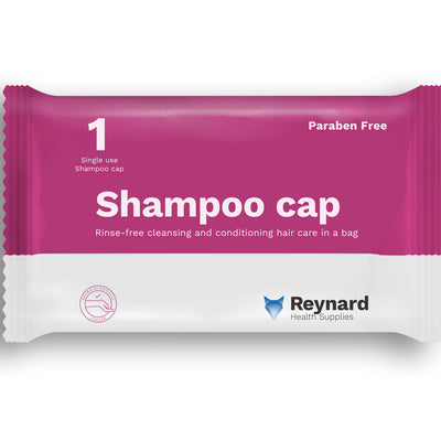 the image shows the reynard shampoo cap