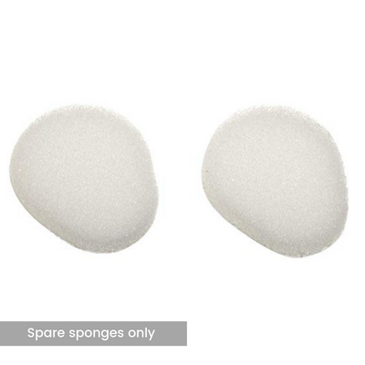 The image shows two spare sponges for the Long Handled Lotion Applicator
