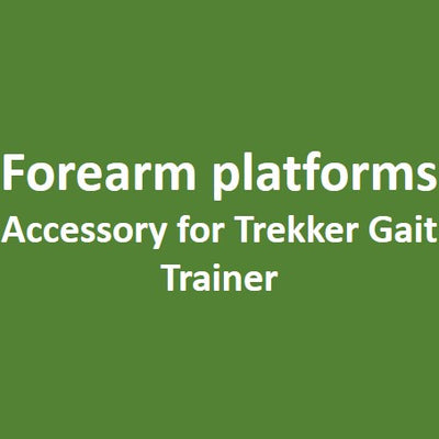 Forearm Platforms (Small or Large) - Accessory for the Trekker Gait Trainer