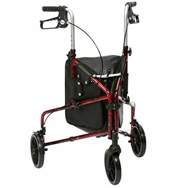 The image shows the Flame Tri Walker in red