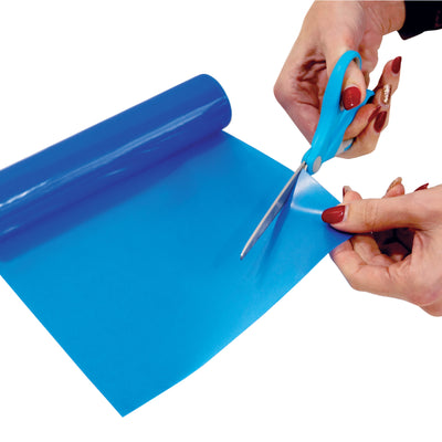 the image shows the blue standard non slip silicone roll