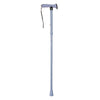 The image shows the folding rubber handled walking stick