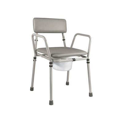 Essex Height Adjustable Stacking Commode Chair