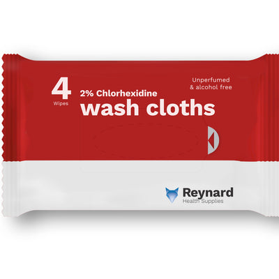 the image shows a bath lite barrier wash cloth from reynard
