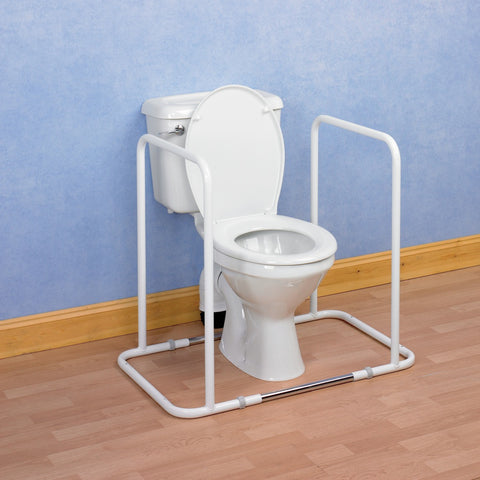 Homecraft-Surrey-Full-Toilet-Surround-Rail-MkII Homecraft Surrey Full Toilet Surround Rail MkII