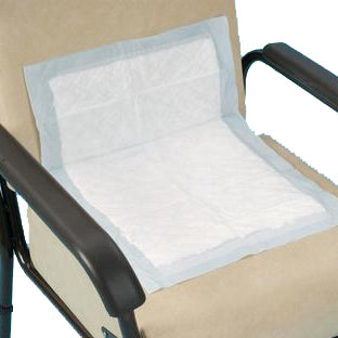 the image shows the lil disposable chair and bed protectors