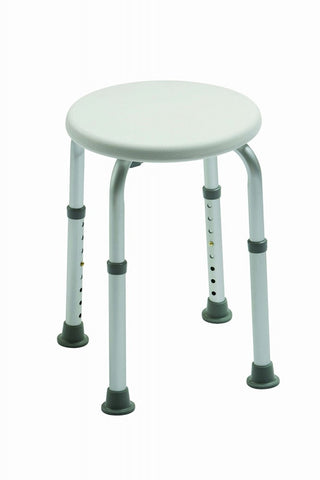 Adjustable-Height-Shower-Stool-with-circular-seat Standard